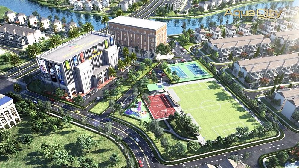 Aqua Sport Complex và Aqua Business Lounge