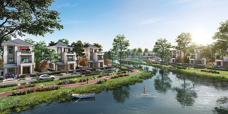 Biệt thự đơn lập Aqua City