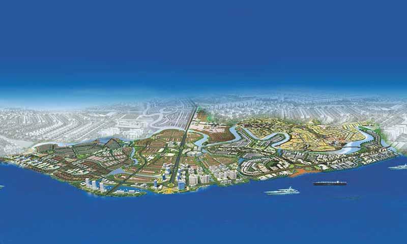 Tổng thể khu đô thị tại Long Hưng, Biên Hòa, Đồng Nai