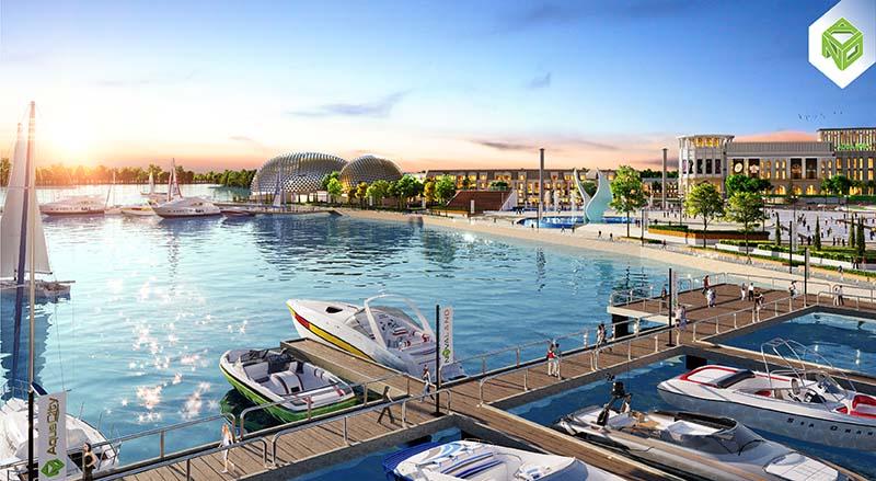 Bến du thuyền Aqua Marina