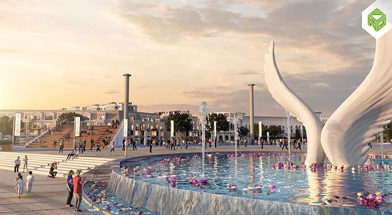 Biểu tượng Aqua City