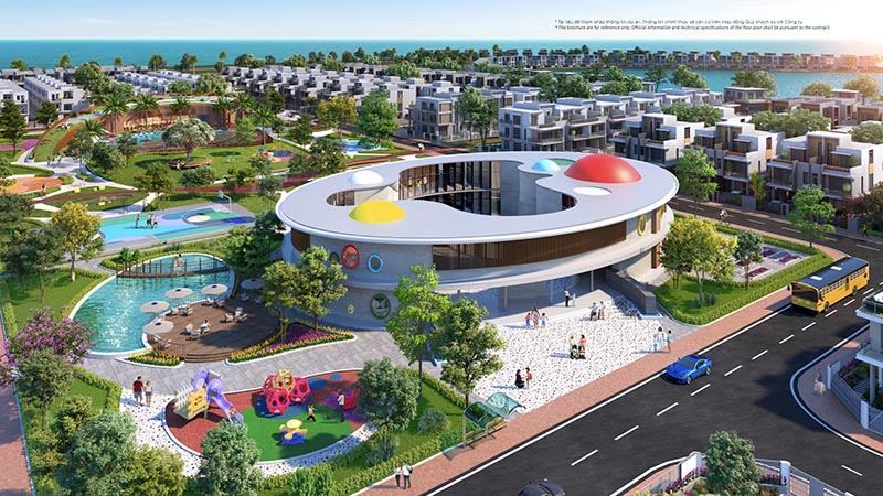 Hệ thống trường học liên cấp Quốc tế tại Aqua City
